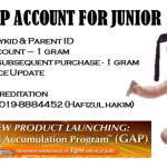 GAP Junior Account for kids