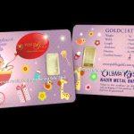 [New Product]: 1 Gram Goldbar LBMA 999.9