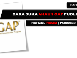 Daftar Akaun GAP Public Gold anda di sini!