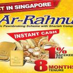 First Islamic Pawn Broking Ar Rahnu in Singapore