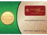 Belian 1 Dinar emas – bayaran secara ansuran 4 bulan.