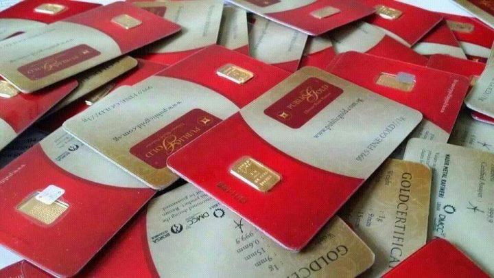 Cara Beli Jongkong Emas 1 gram keluaran Public Gold