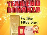 Promo November: Beli Emas 1 Kilo, percuma 5 gram
