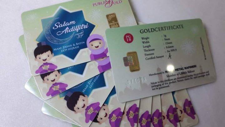 Cara bijak beli jongkong 1 gram Public Gold dengan harga murah!