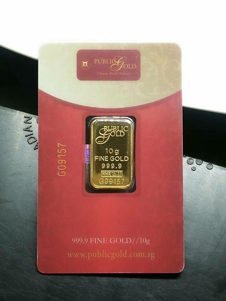 3 Cara beli emas 10 gram Public Gold