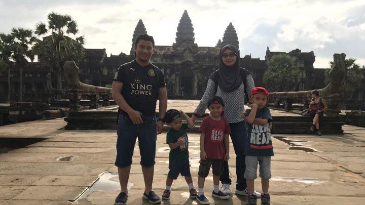 Itinerary: PHNOM PENH + SIEM REAP 5 HARI 4 MALAM