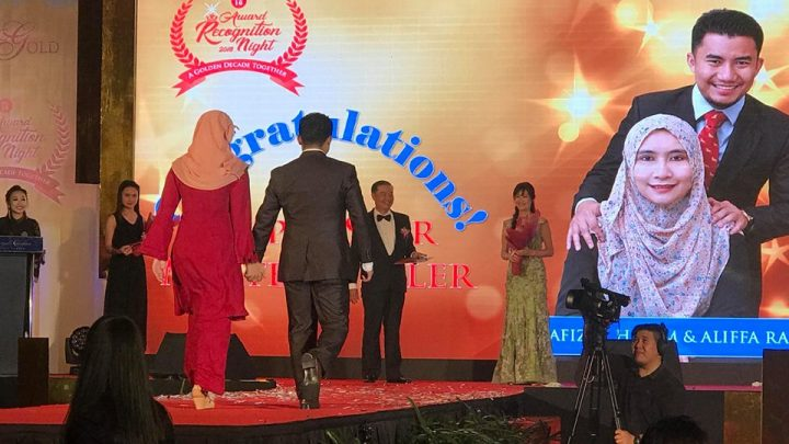 Public Gold Award Recognition Night 2018 at Royal Chulan Hotel