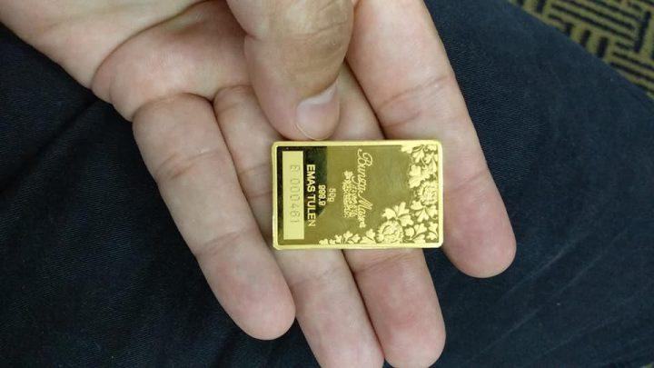 Berita Baik! Boleh bayar belian 50 gram emas selama 10 bulan!